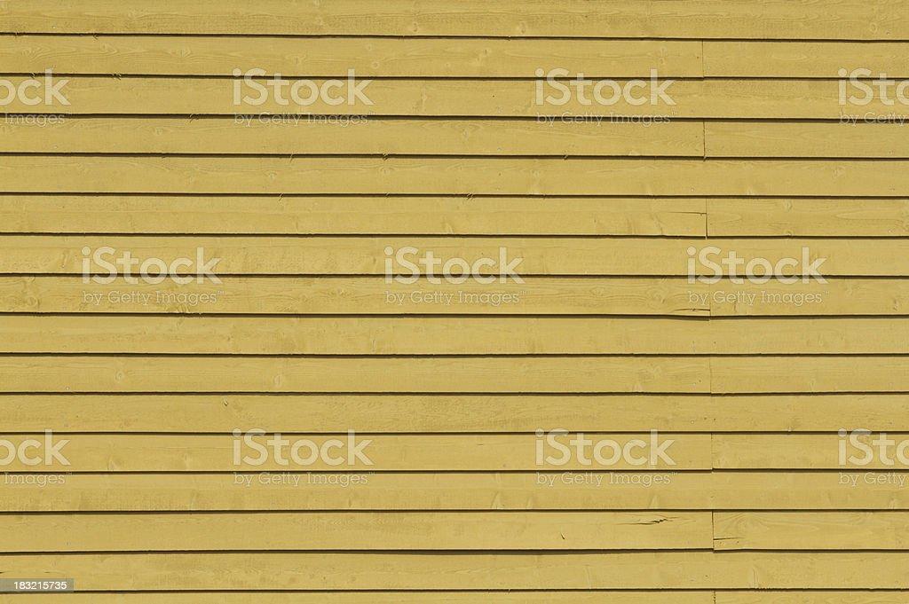 Moutarde Le bardage en bois - Photo