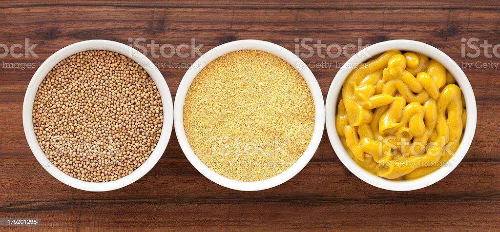 Mustards stock photo