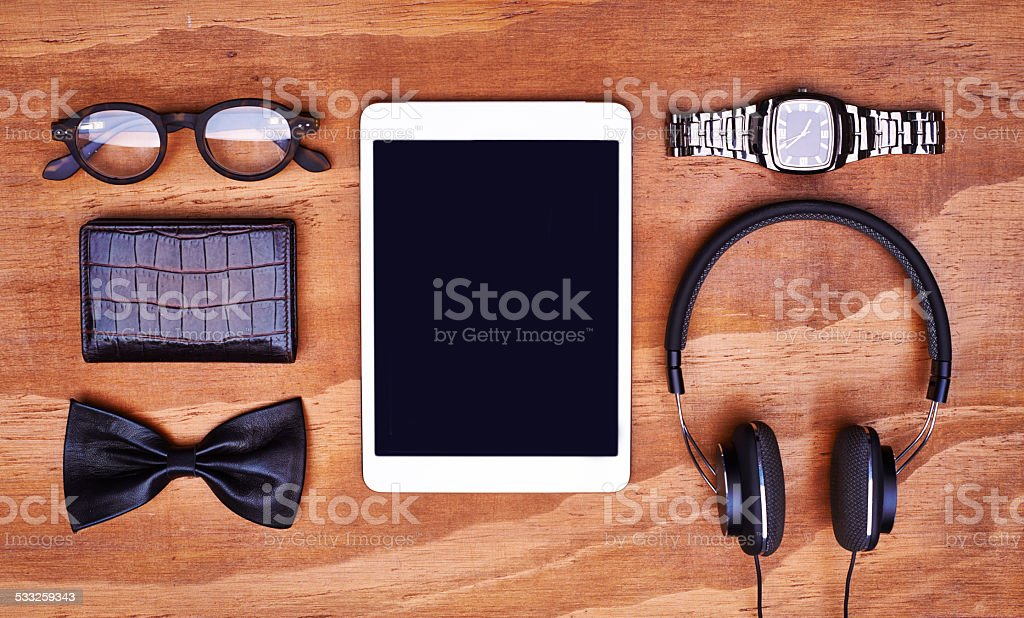 Must-haves for this season! stock photo