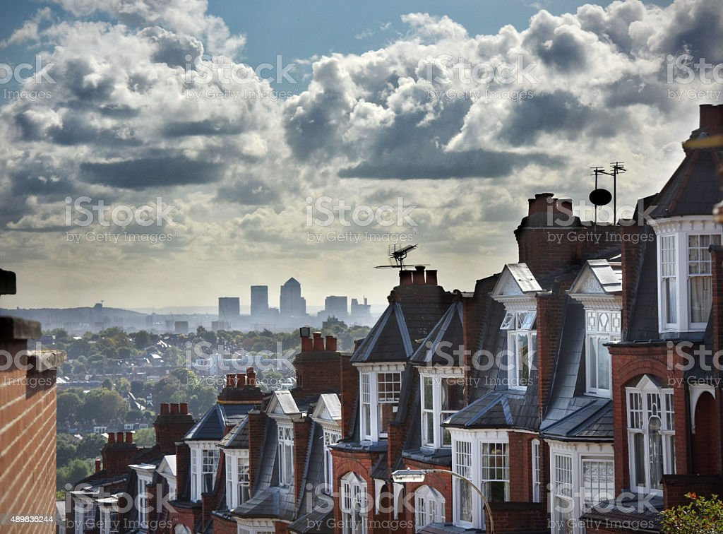 Muswell Hill, London stock photo