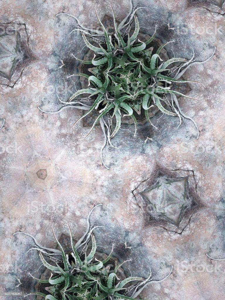 mutant nature organic background with plant based shapes stock photo