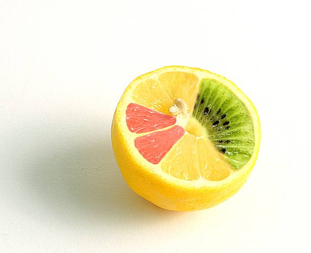 mutated lemon mutated lemon genetic modification stock pictures, royalty-free photos & images