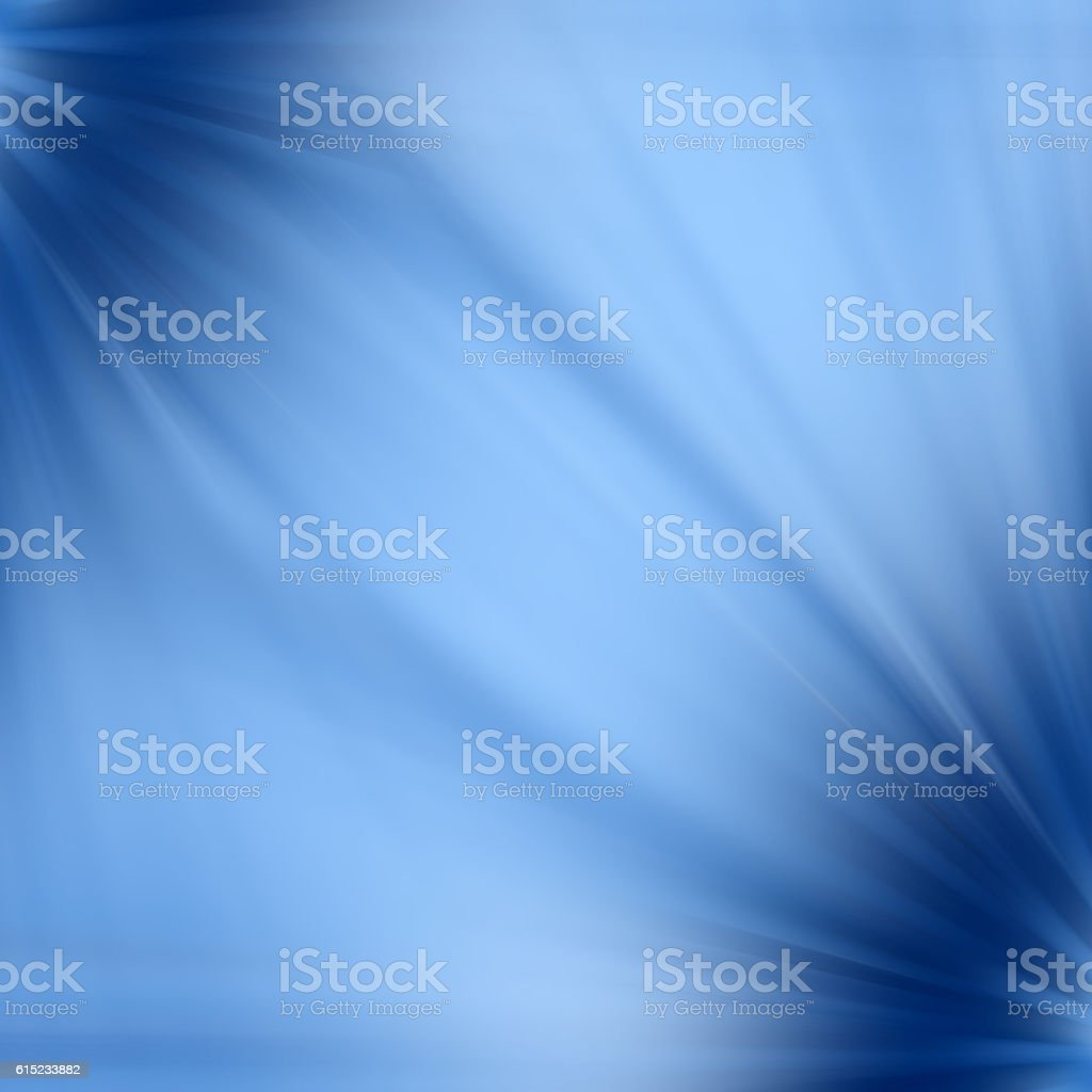 Muted Blue Abstract Background, Defocused Chromatic Style, Corners Stretched Fullframe stock photo