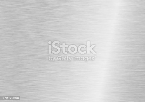 istock Muted grey and white steel background 175170390