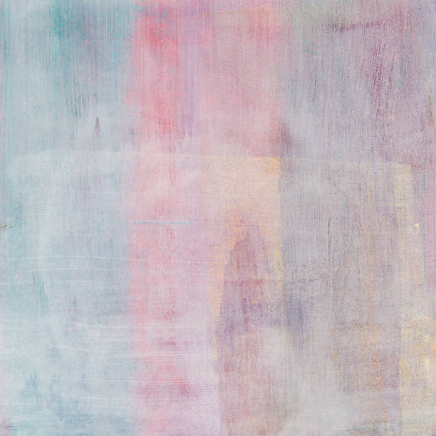 Muted pastel hand painted distressed background – zdjęcie