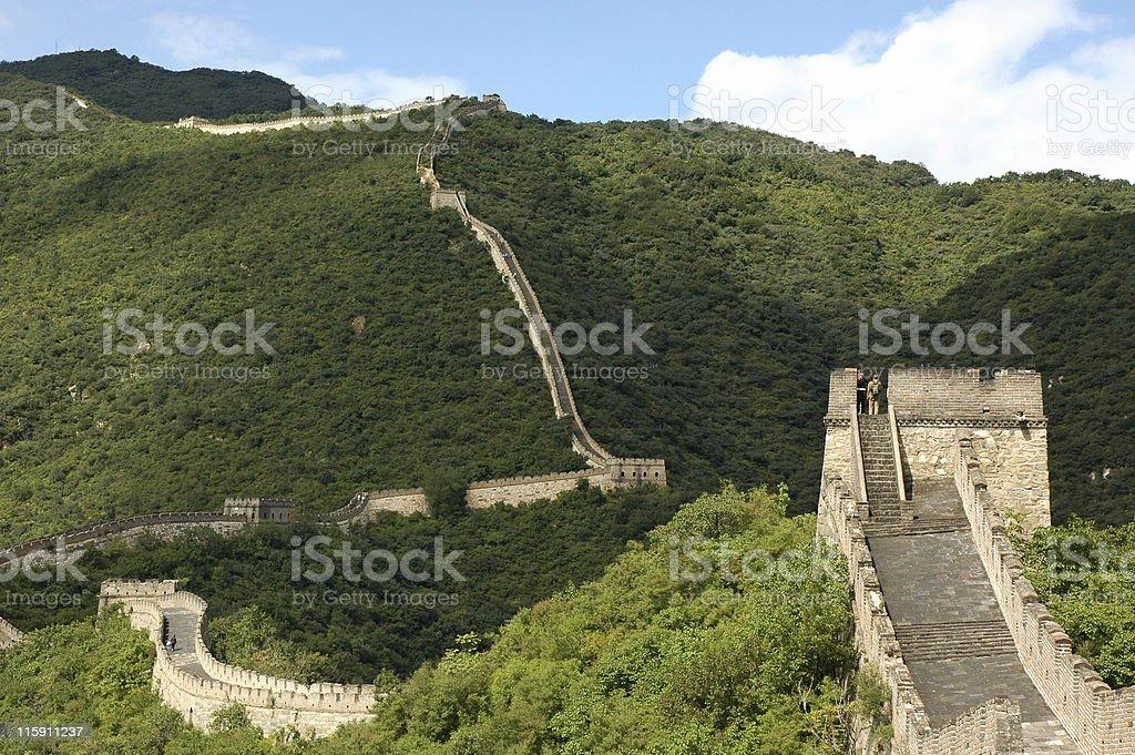 MuTianYu Great Wall royalty-free stock photo
