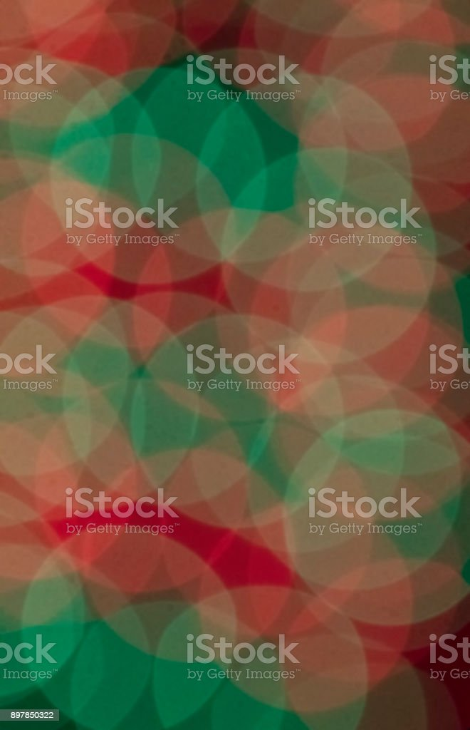 Mutli-colored circle abstract stock photo