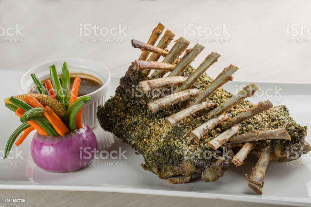 Mutton Racks stock photo