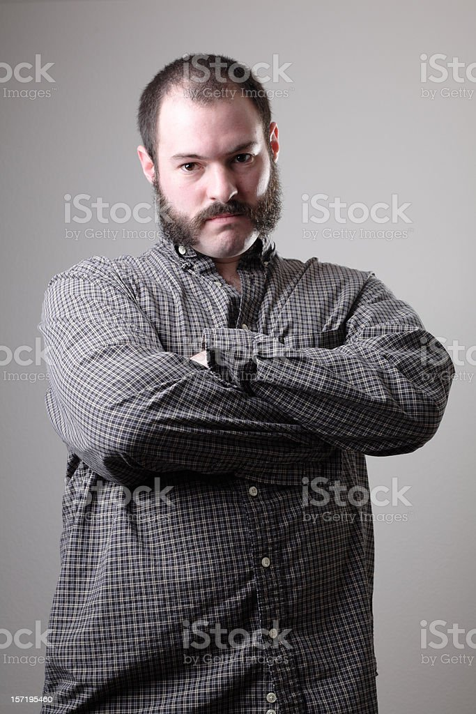 Muttonchops stock photo