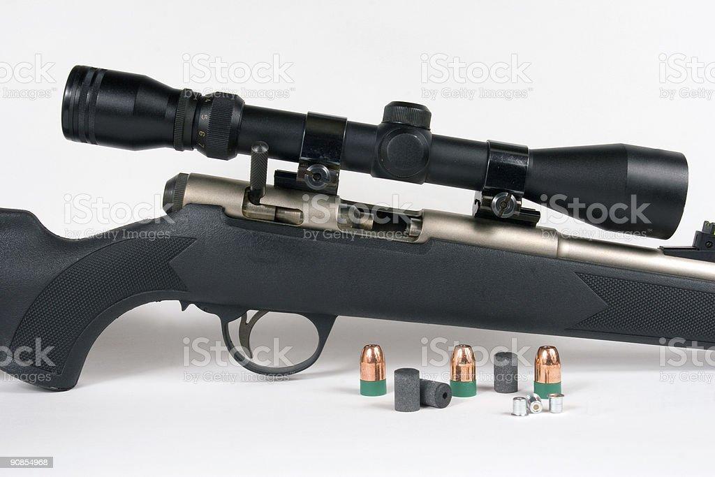 Muzzle Loading Rifle royalty-free stock photo