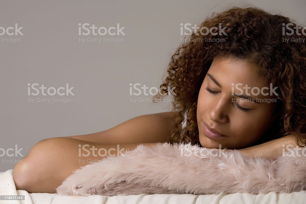 My african dream stock photo