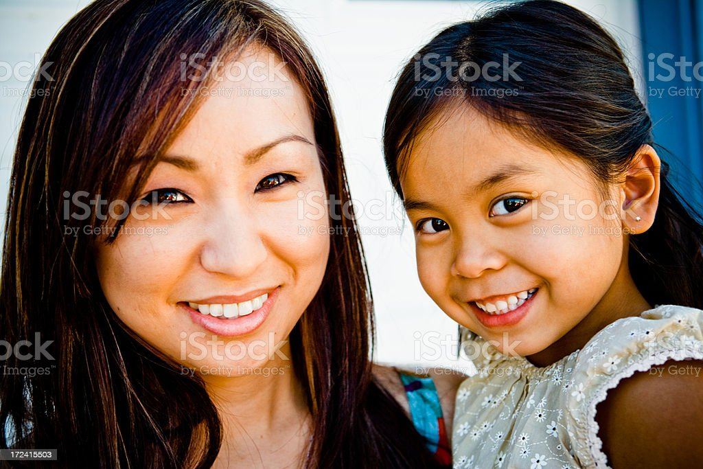 my auntie and me royalty-free stock photo
