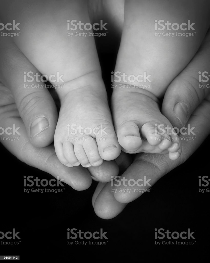 My Baby royalty-free stock photo