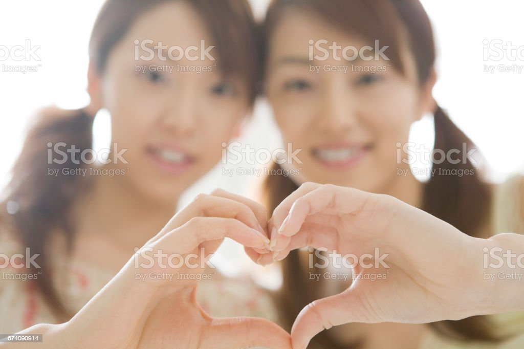 My best girl friends royalty-free stock photo