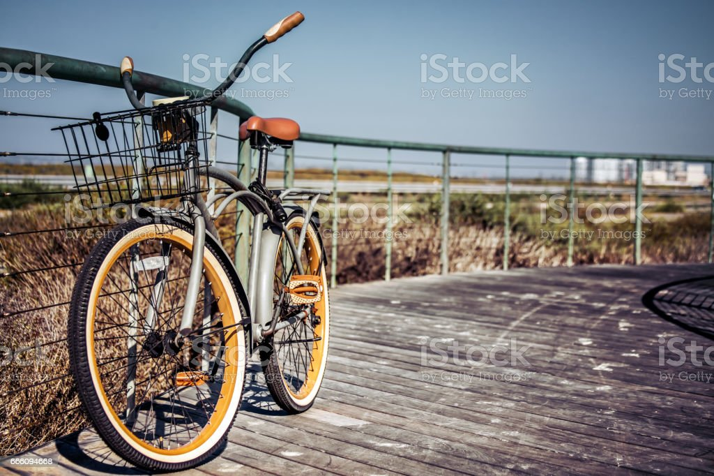 My Bike stock photo