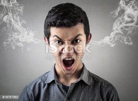 istock My boss pissed me off again! 619757052