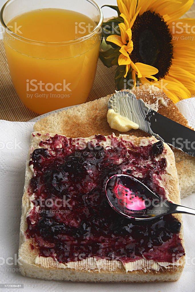 My breakfast. royalty-free stock photo