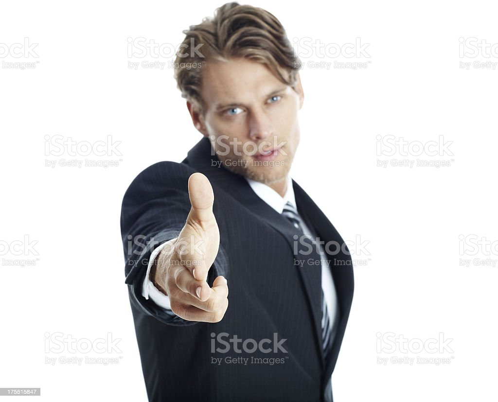 My business needs you! royalty-free stock photo