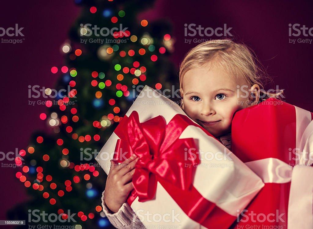 My christmas presents royalty-free stock photo