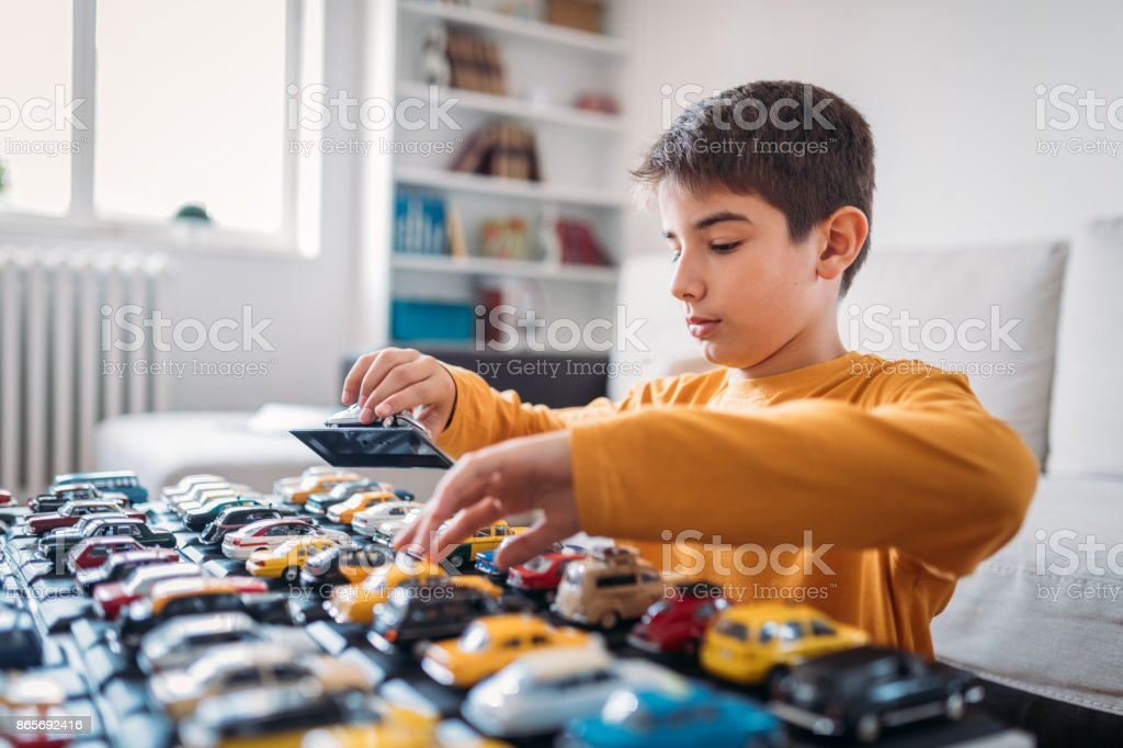 My collection cars stock photo