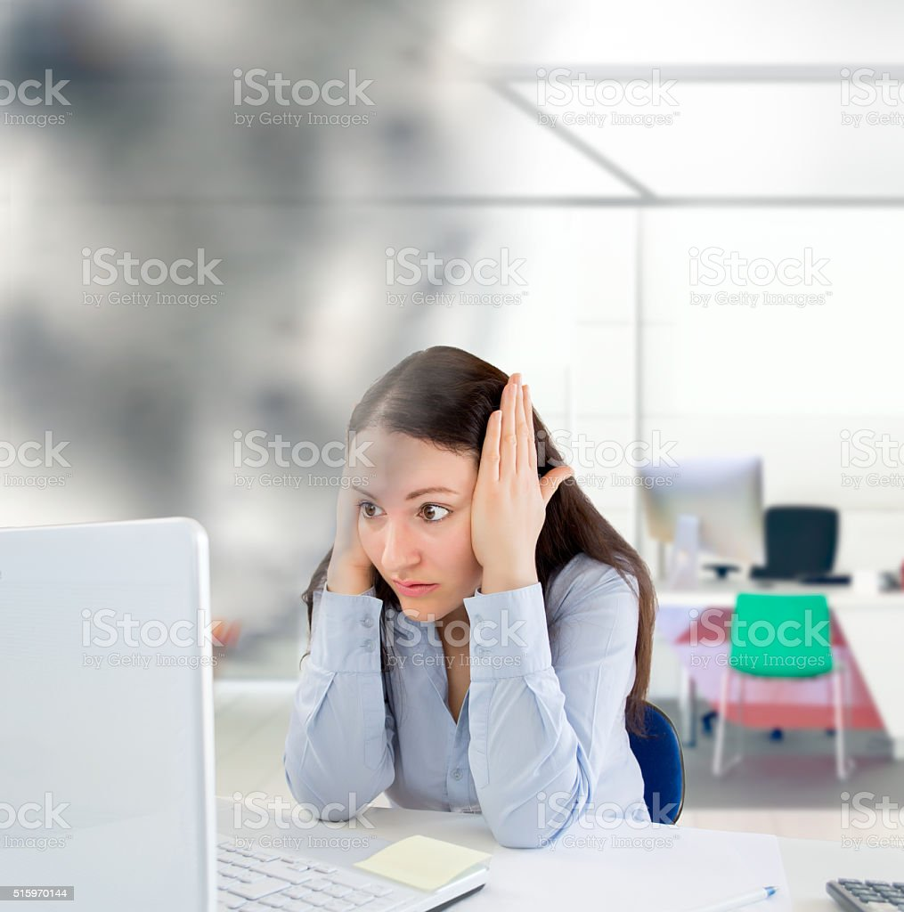 my computer s time is up stock photo
