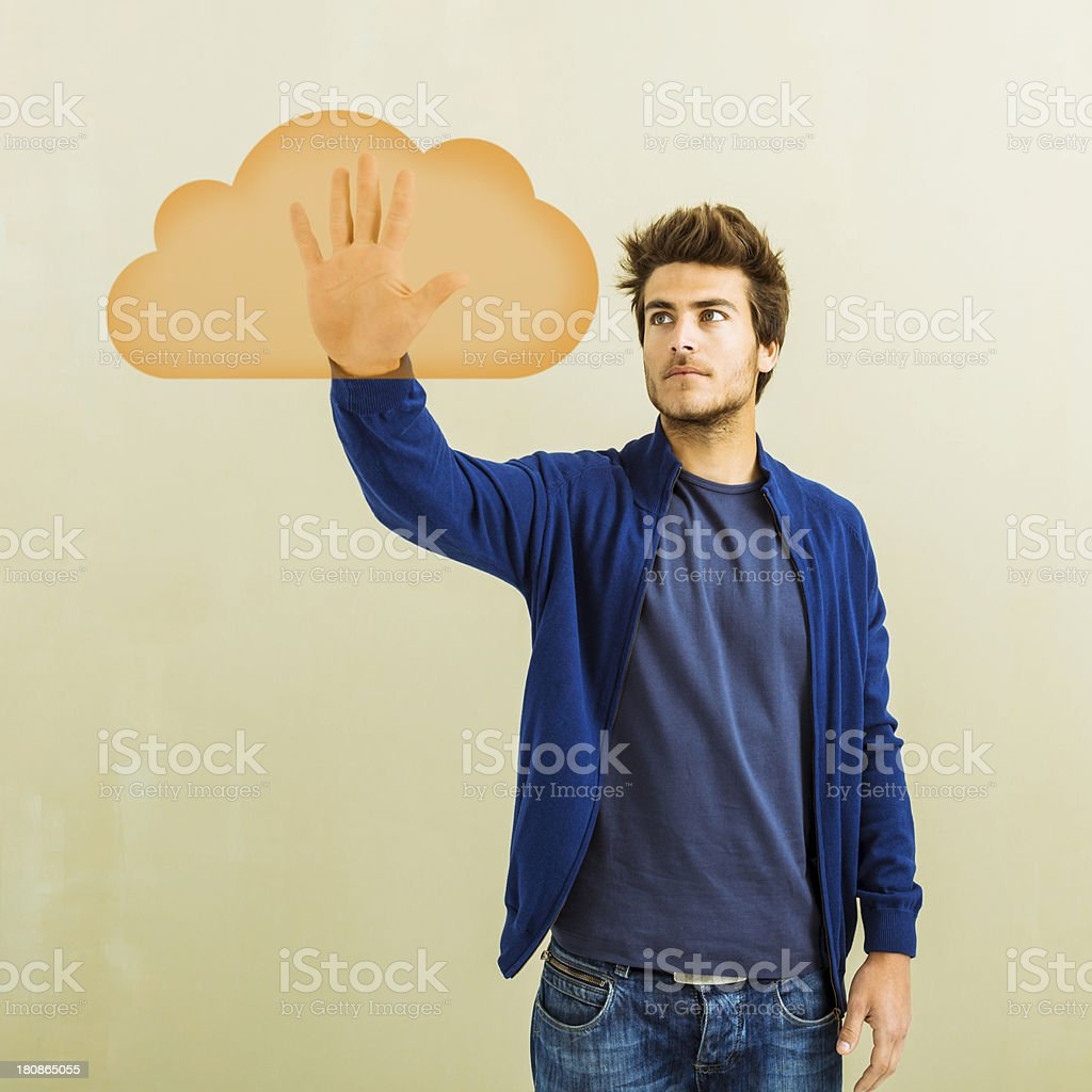 My creative cloud royalty-free stock photo