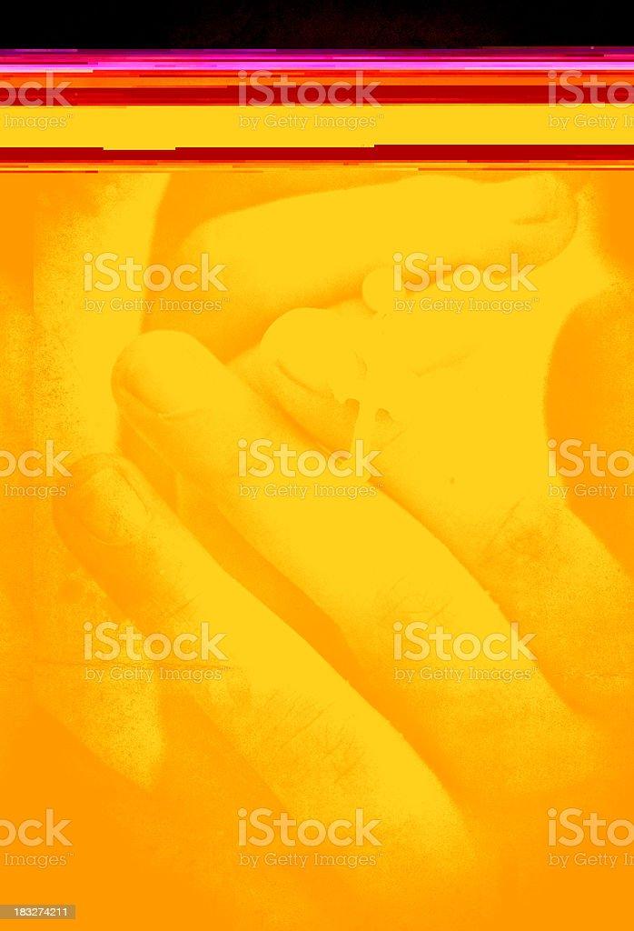 my cross in dark sepia royalty-free stock photo