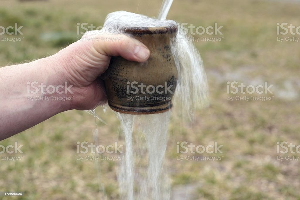 My Cup Runneth Over royalty-free stock photo