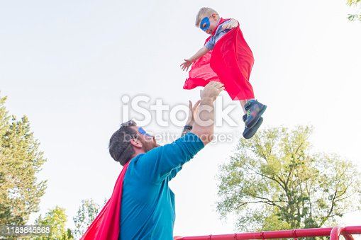 516318379 istock photo My Dad is My Superhero 1183845868