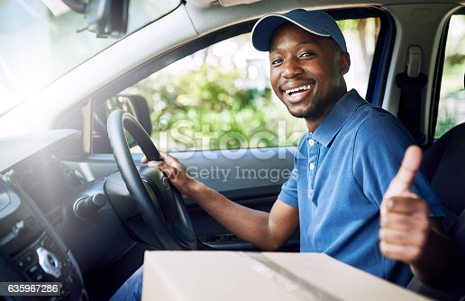 635967404 istock photo My deliveries always go out on time 635967286