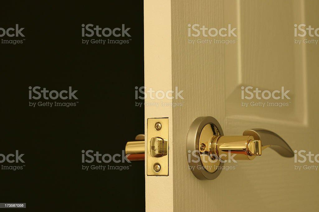 My door handle part 2 royalty-free stock photo