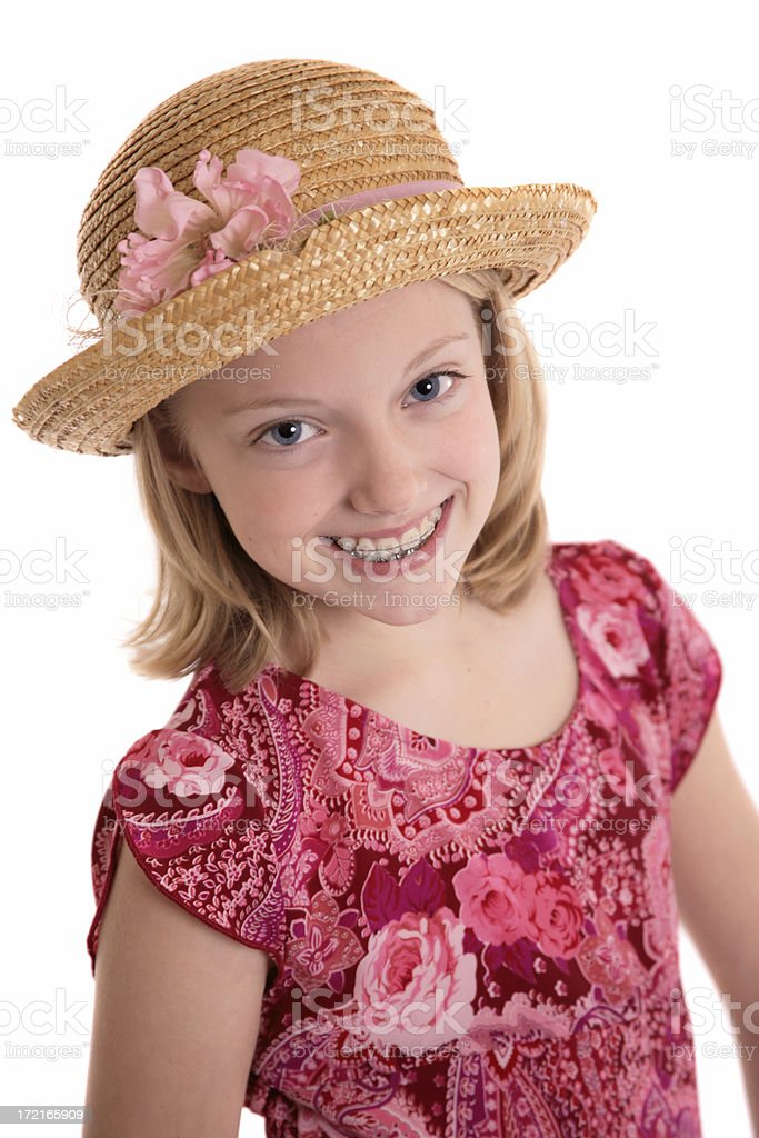 My Easter Bonnet royalty-free stock photo