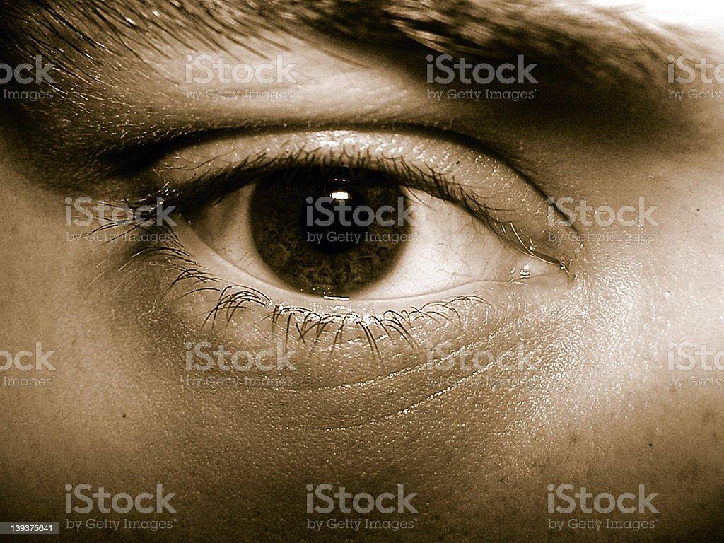 My eye royalty-free stock photo