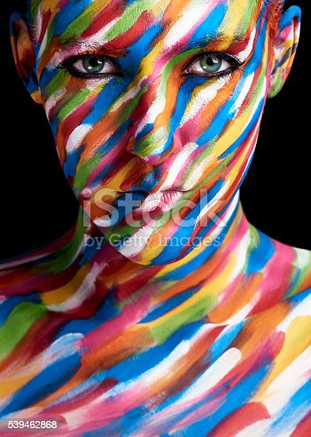 istock My face is a canvas 539462868