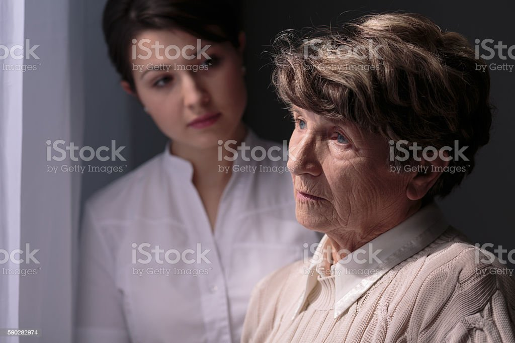 My family doesn't care about me stock photo