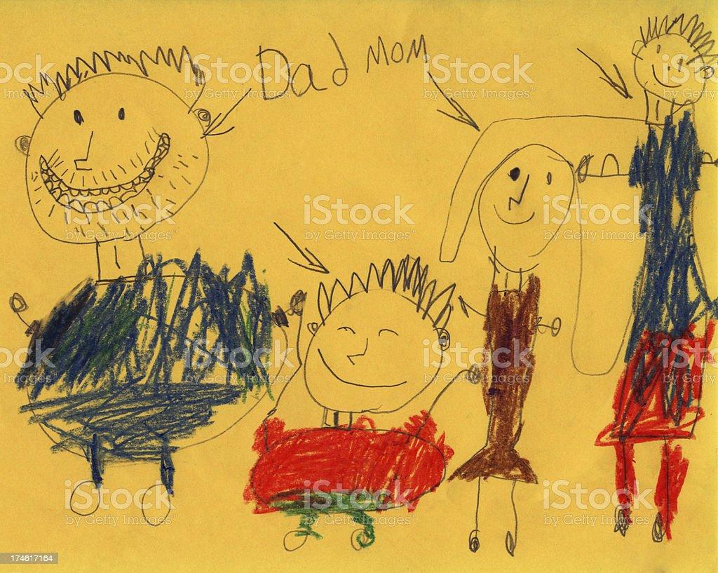 My Family royalty-free stock photo