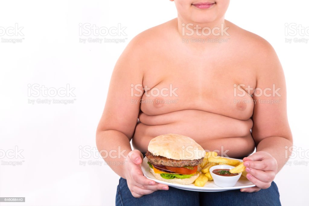 My Favorite Food Stock Photo & More Pictures of Abdomen - iStock