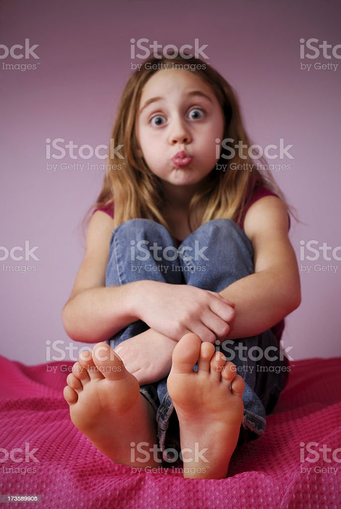 My Feet stock photo