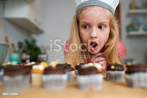 istock My first batch of cupcakes! 599129950