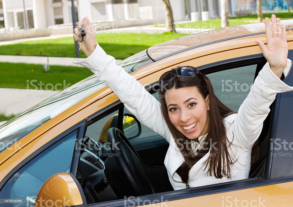 My First Car stock photo