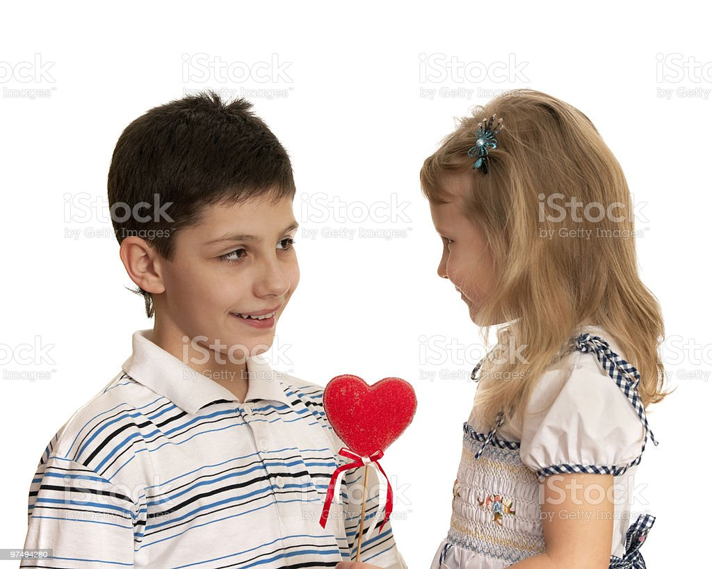 My first valentine royalty-free stock photo