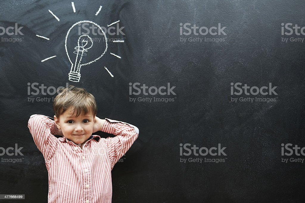 My future is looking brighter than this lightbulb stock photo