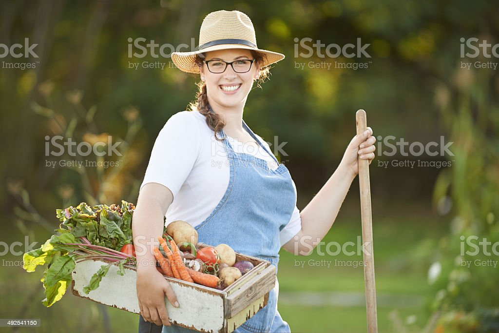 My garden of earthly delights stock photo