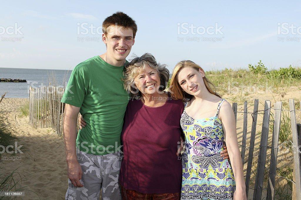 My Grandchildren royalty-free stock photo