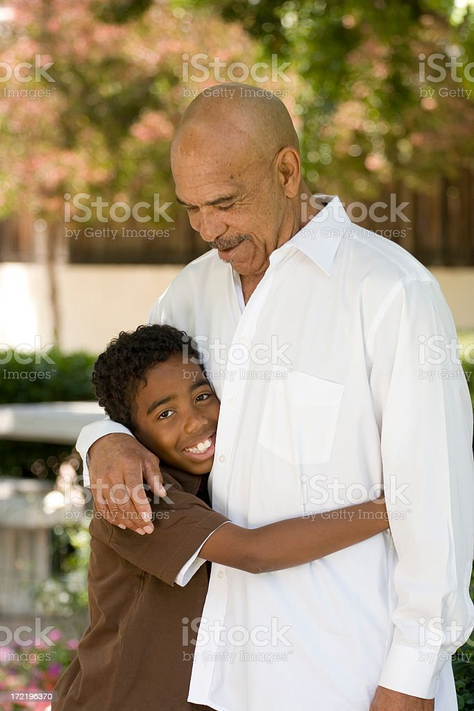 My Granddad royalty-free stock photo