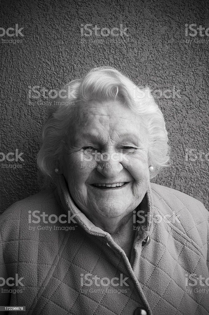 My Grandma royalty-free stock photo