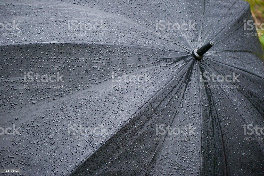 My grandpa umbrella royalty-free stock photo