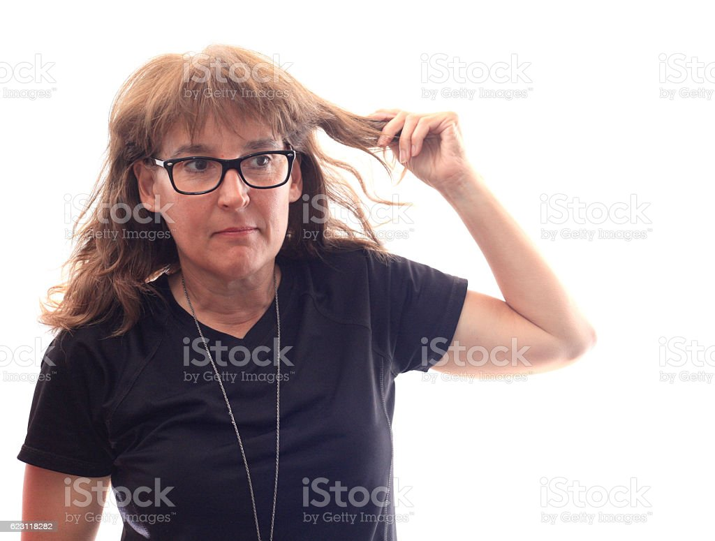 My hair - Royalty-free Adult Stock Photo