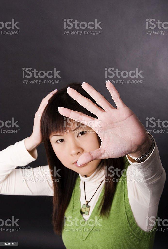 My Hand stock photo