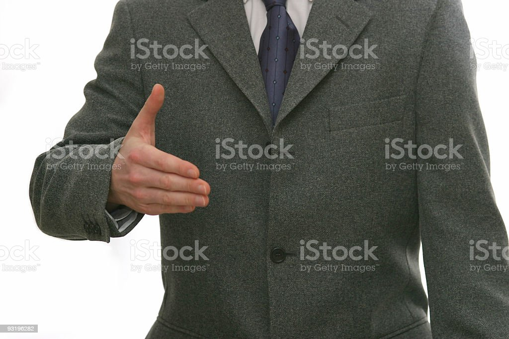 My hand? royalty-free stock photo